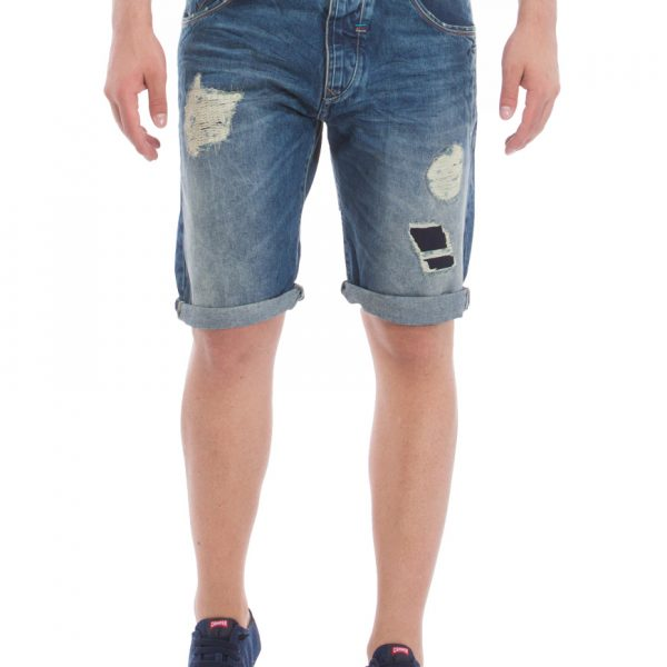 Red Spot Βερμούδα Ανδρική Blue Denim Attack-Shld 1663666 59cf9bc60ff