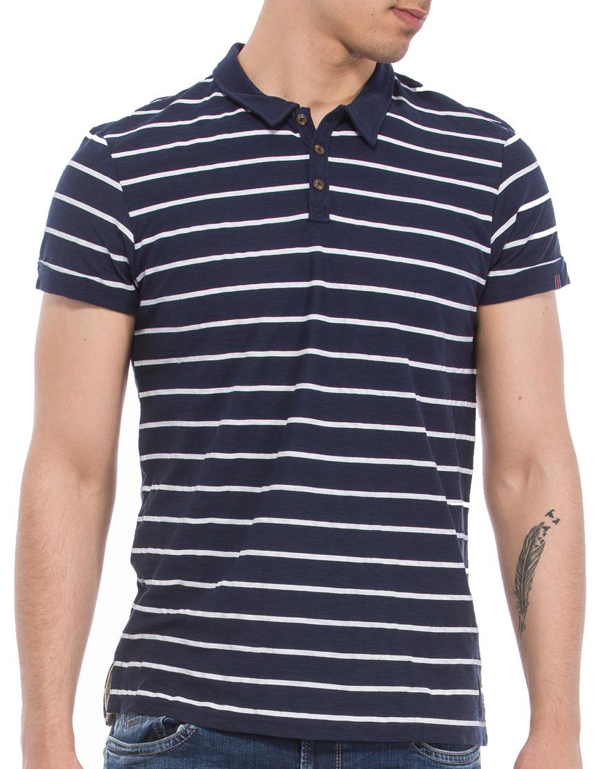 97535b1ee14d Tom Tailor Polo T-Shirt Ανδρικό 6740 Black TT0AP10560012 1663645 ...