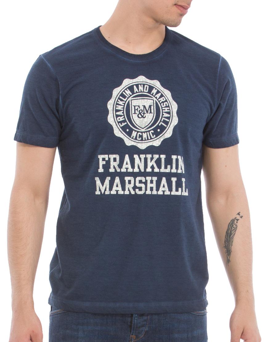 a857701d20c Franklin & Marshall T-Shirt Ανδρικό 15/Navy TSMF188ANS17 1661032 ...