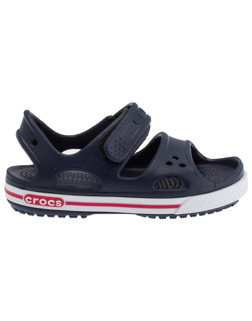 444df4d513f Crocs Crocband II Sandal Ανατομικά Παιδικά Navy/White 14854-462 1722627