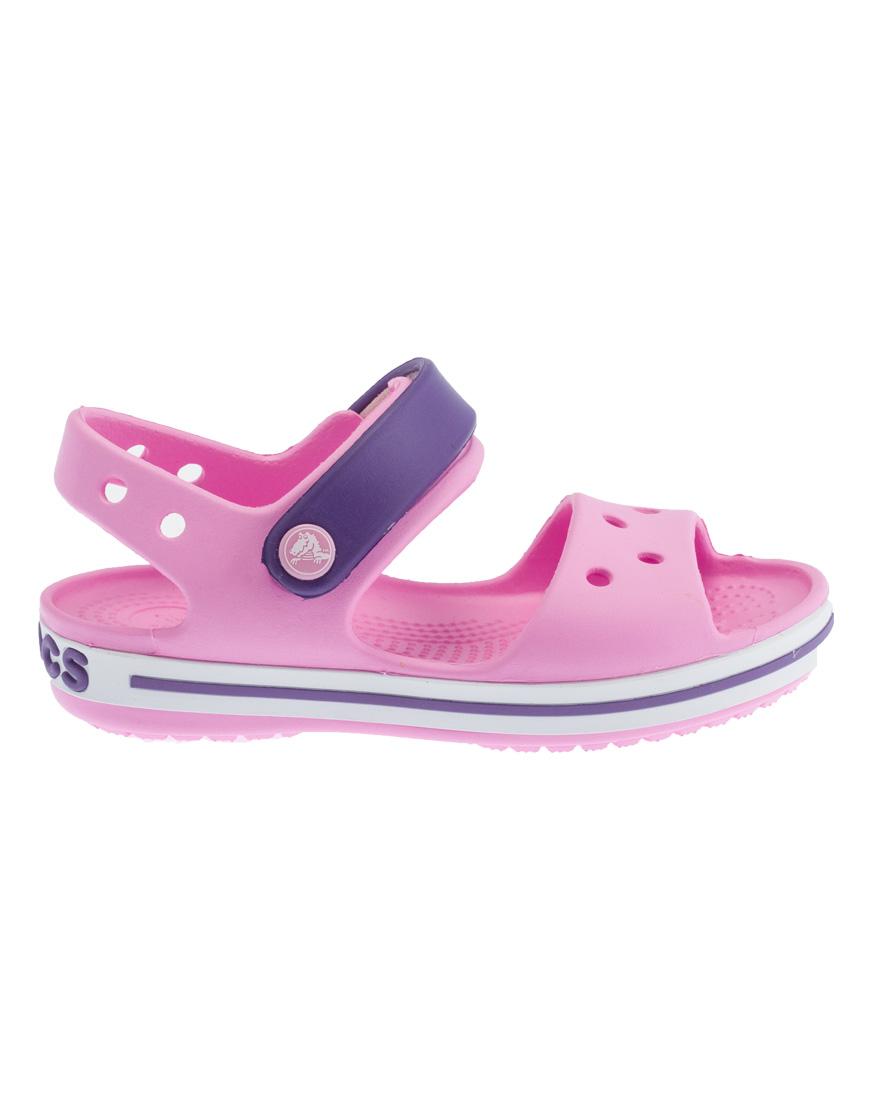 8dde79a7e6c Crocs Crocband Sandal Ανατομικά Παιδικά Carnation/Amethyst 12856-6AI 1722628