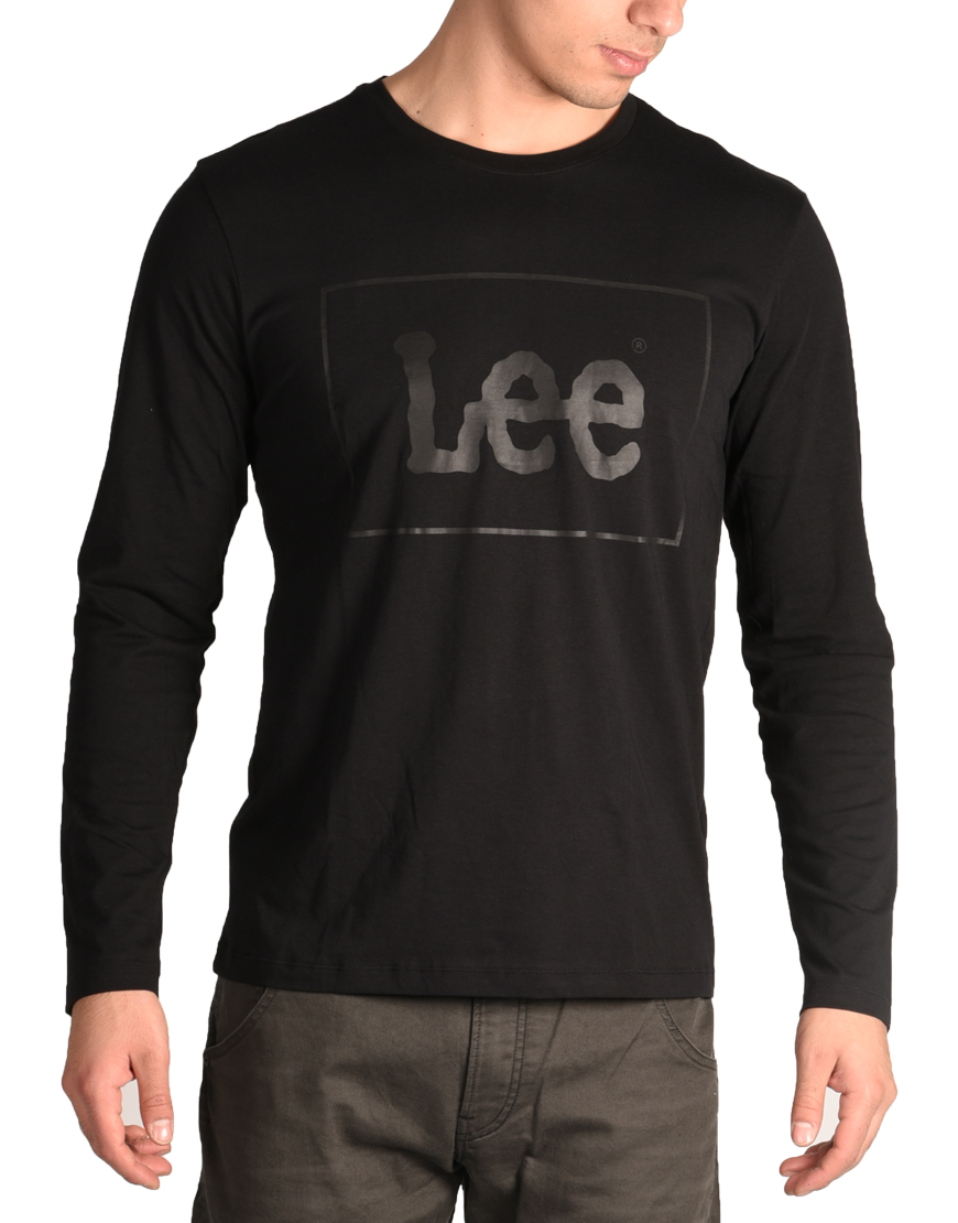 7c76d2671766 Lee Μπλούζα Ανδρική Black L61YAI01 1681168