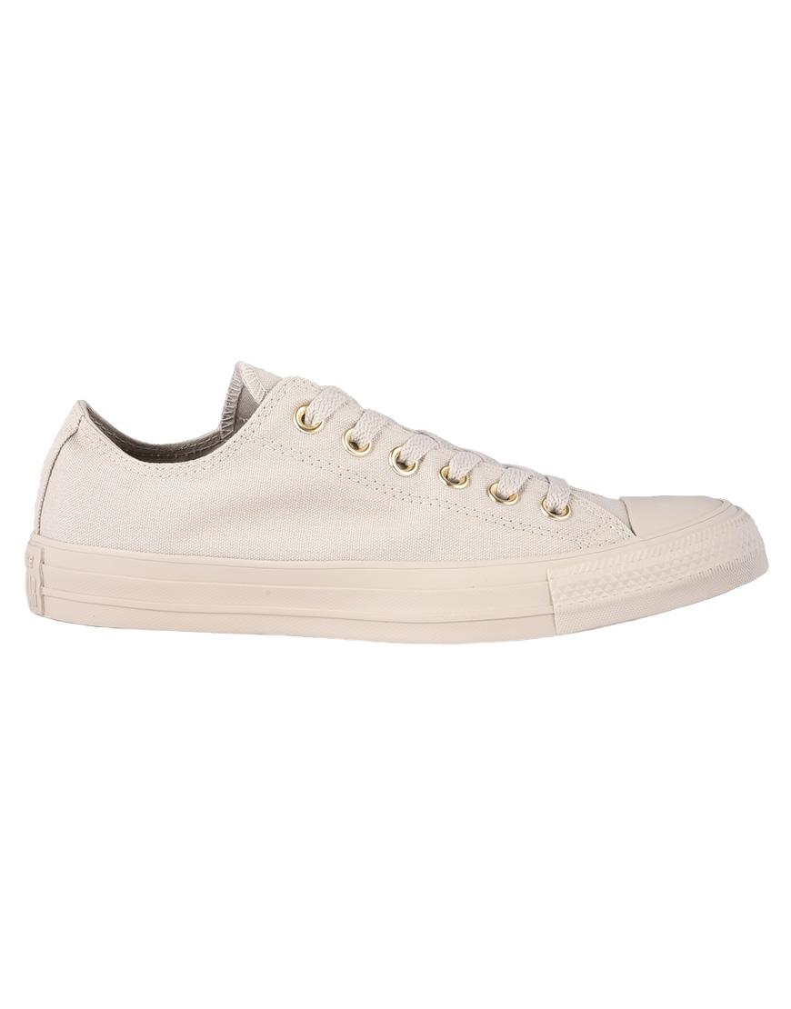 688fa41c8649aa Converse Chuck Taylor All Star Ox Mono Glam Sneakers Γυναικεία 81 Pale Grey  559940C 1685353