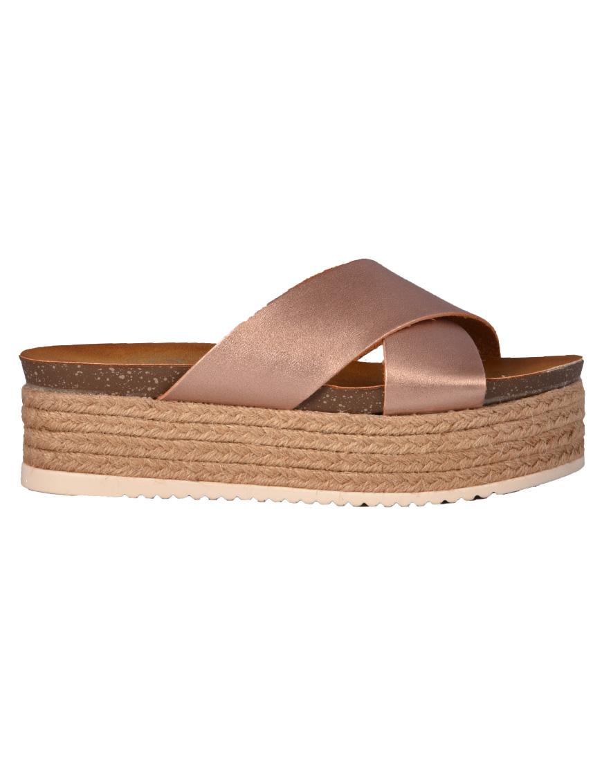 f363c49c847 Seven Shoes Πλατφόρμες Γυναικείες Pink/Gold 6167-29 1686202 | Paul ...