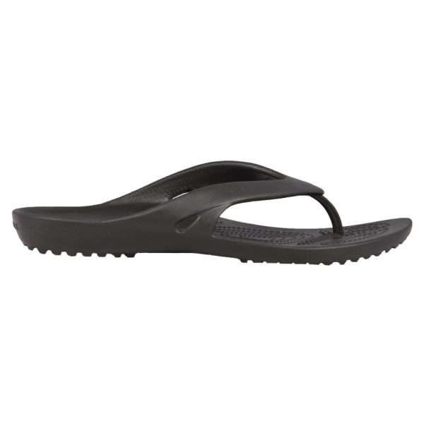 ff54db52130 Crocs Kadee II Flip Γυναικείες Ανατομικές Σαγιονάρες Black 202492-001  1686814