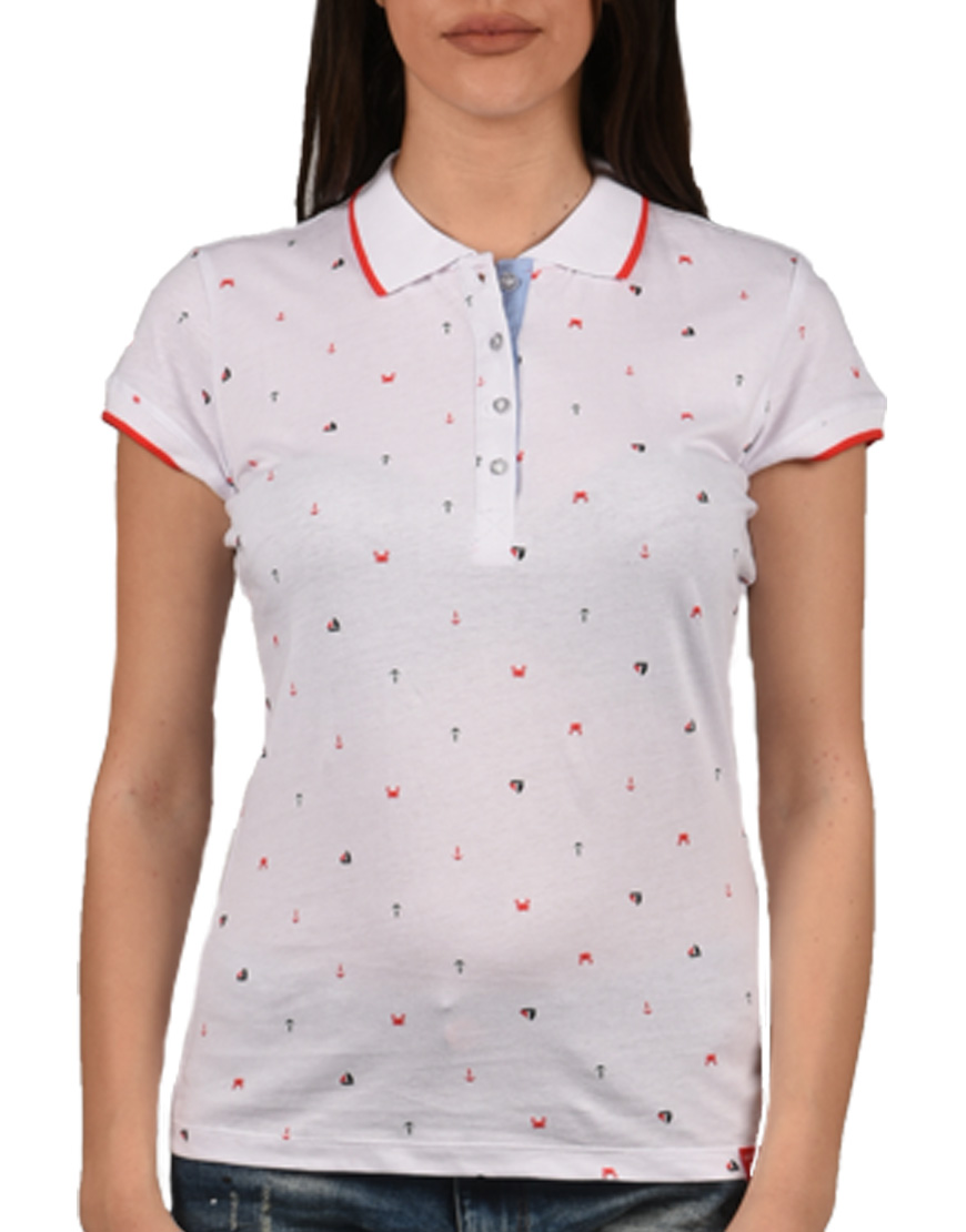 cadf0d6c4f01 Heavy Tools T-Shirt Γυναικείο POLO White C8S18167 1678358
