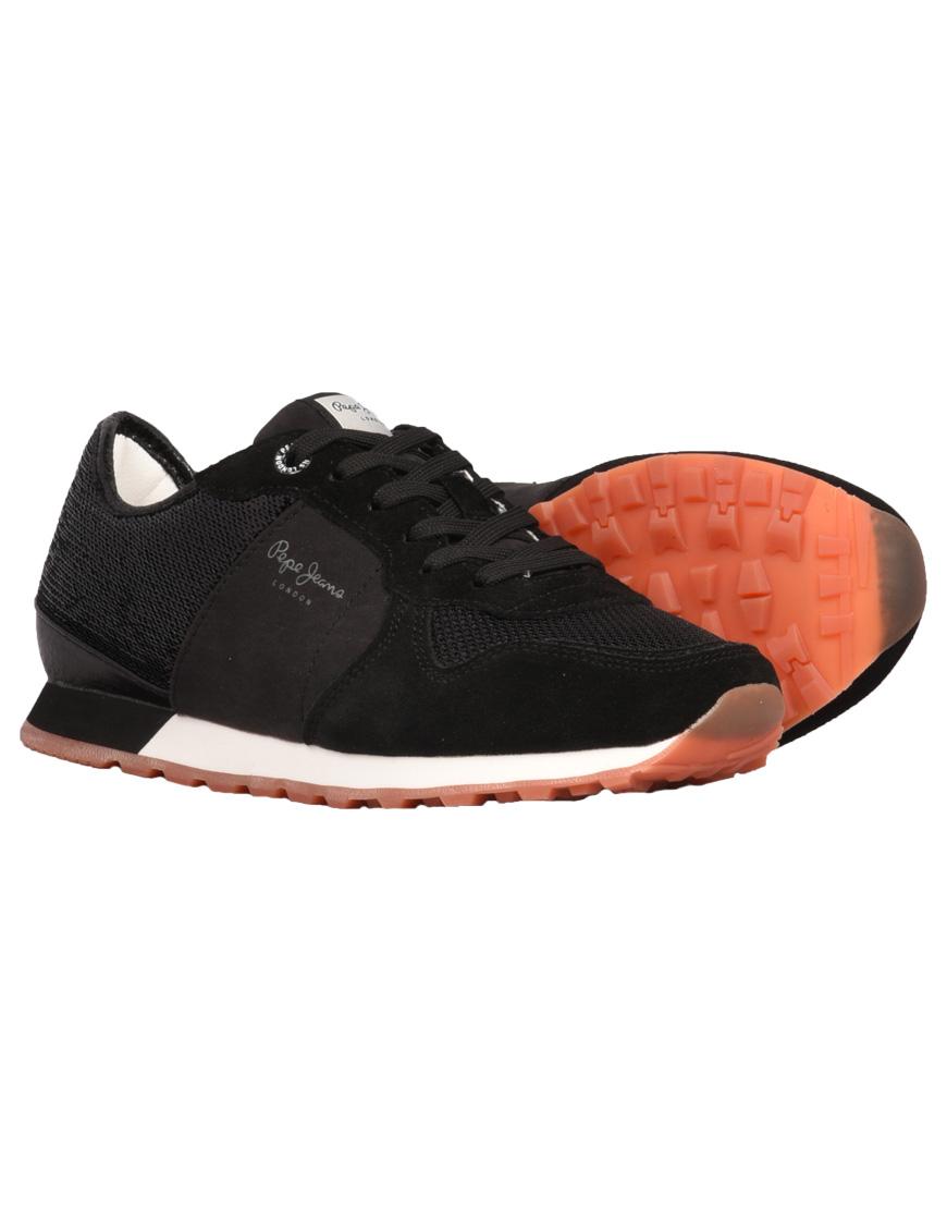 efda605e46c Pepe Jeans Verona New Sequins Sneakers 2 Γυναικεία 999-Black ...
