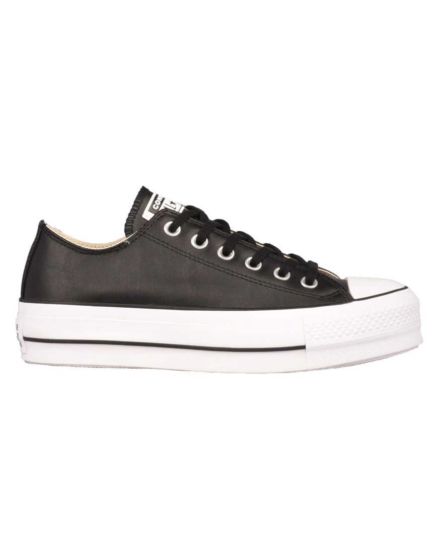 Converse All Star Chuck Taylor All Sneakers Γυναικεία Star Lift Clean  Leather Low Top Black 561681C 1689406 ce8c8d441b8