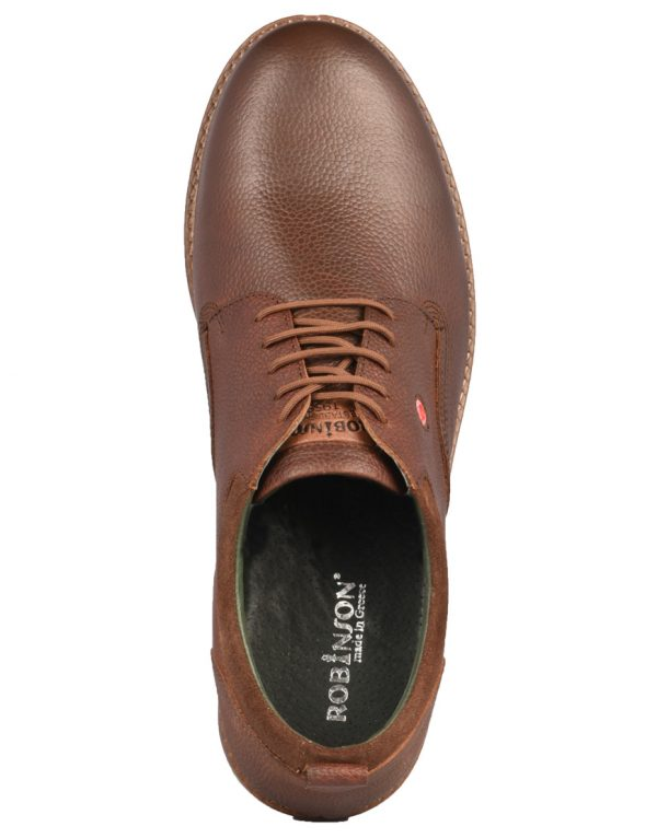Robinson Oxford Ανδρικά Brown 1635 1689932  cde7cbf4316