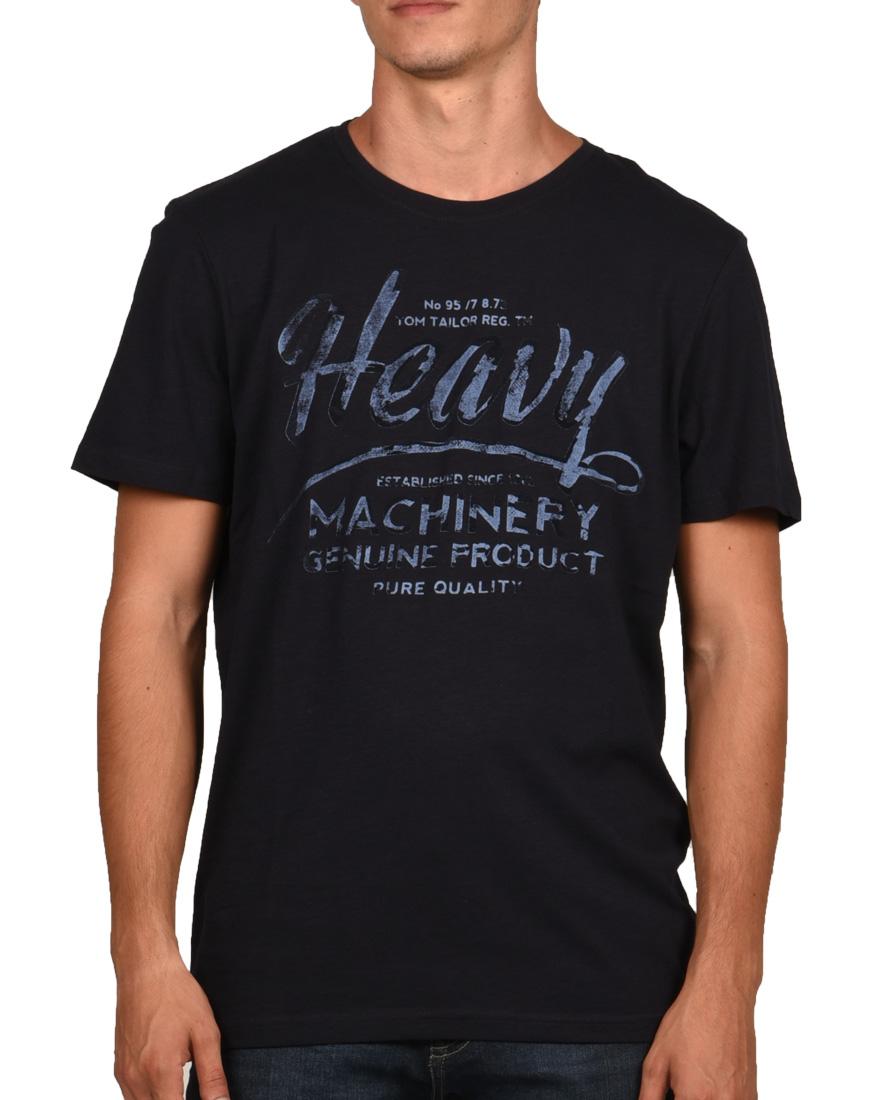 Tom Tailor T-Shirt Ανδρικό Blue 1056154001 1689666  2ac5dca6fed