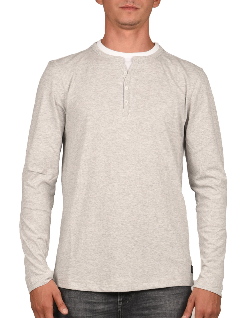 Tom Tailor T-Shirt Ανδρικό Cool Light Grey Non Solid 1005212.XX.12 1720528 53a8e3d0b89