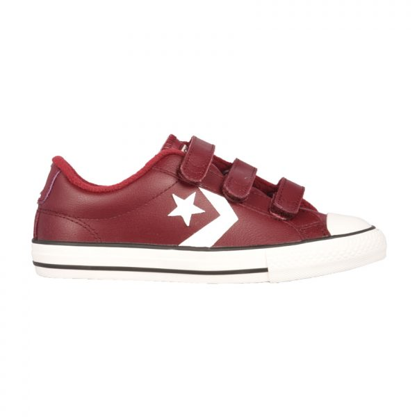 897518e46ccf Converse All Star Chuck Taylor Sneakers Παιδικά Star Player 3V OX Dark  Burgundy/Pomegranate Red 661937C 1689413