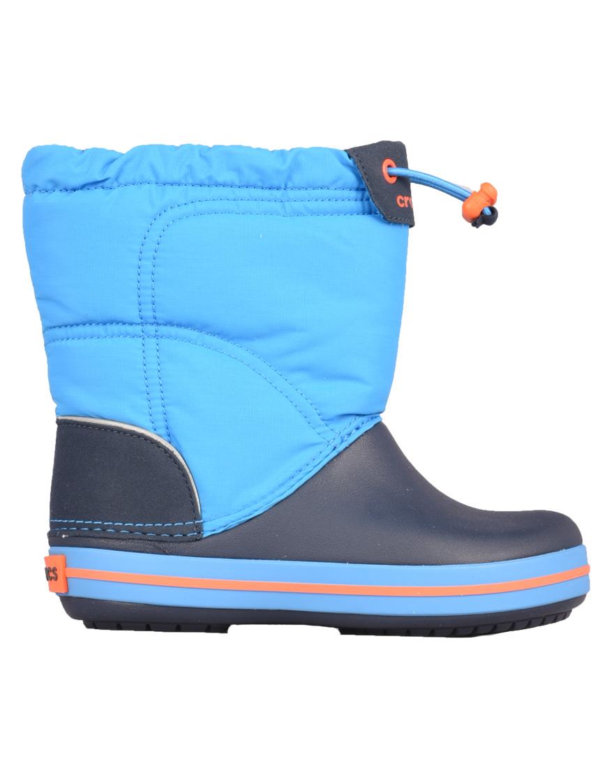 f0207c28966 Crocs Crocband Lodgepoint Παιδικά Ανατομικά Μποτάκια Ocean 203509-4A5  1702971