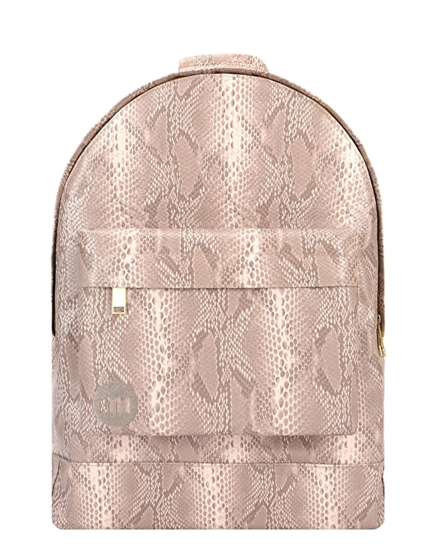 Mi-Pac Τσάντα Γυναικεία Gold Backpack Snake Natural 740360-A91 1720172 3925a3d78d8
