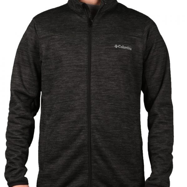 23880333a775 Columbia Ζακέτα Ανδρική Birch Woods II Full Zip Fleece Black Shark Heather  AJ0473-010 1703086