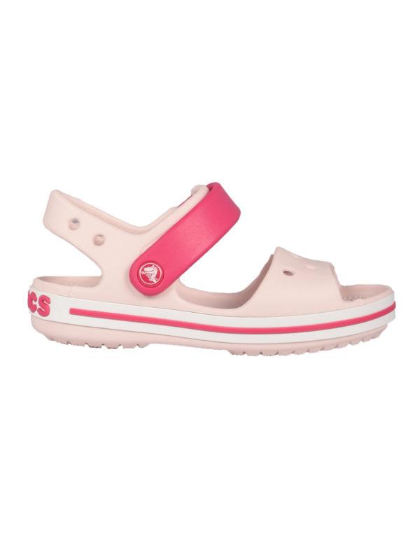 13aada3d7b4 Crocs Crockband Kids Παιδικά Ανατομικά Barely Pink/Candy Pink 12856-6PV  1722628