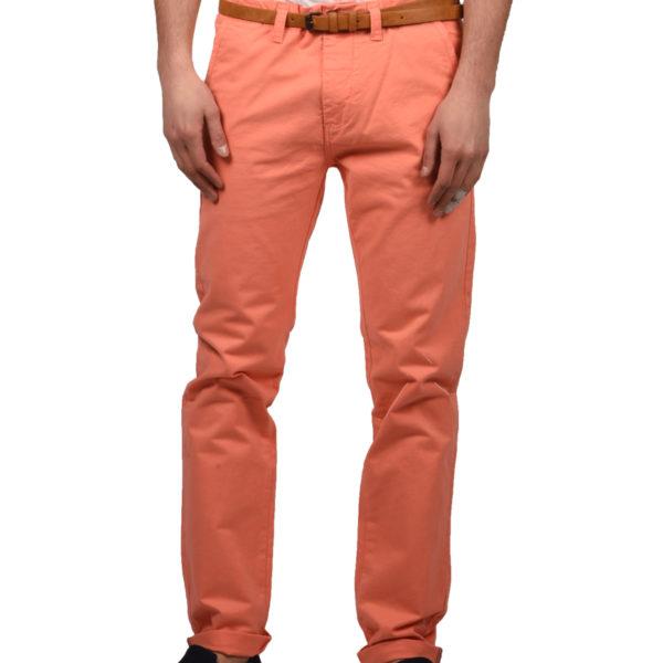 Dstrezzed Παντελόνι Ανδρικό Belt Stretch Twill Orange 501146-439 1706489 019b31df623