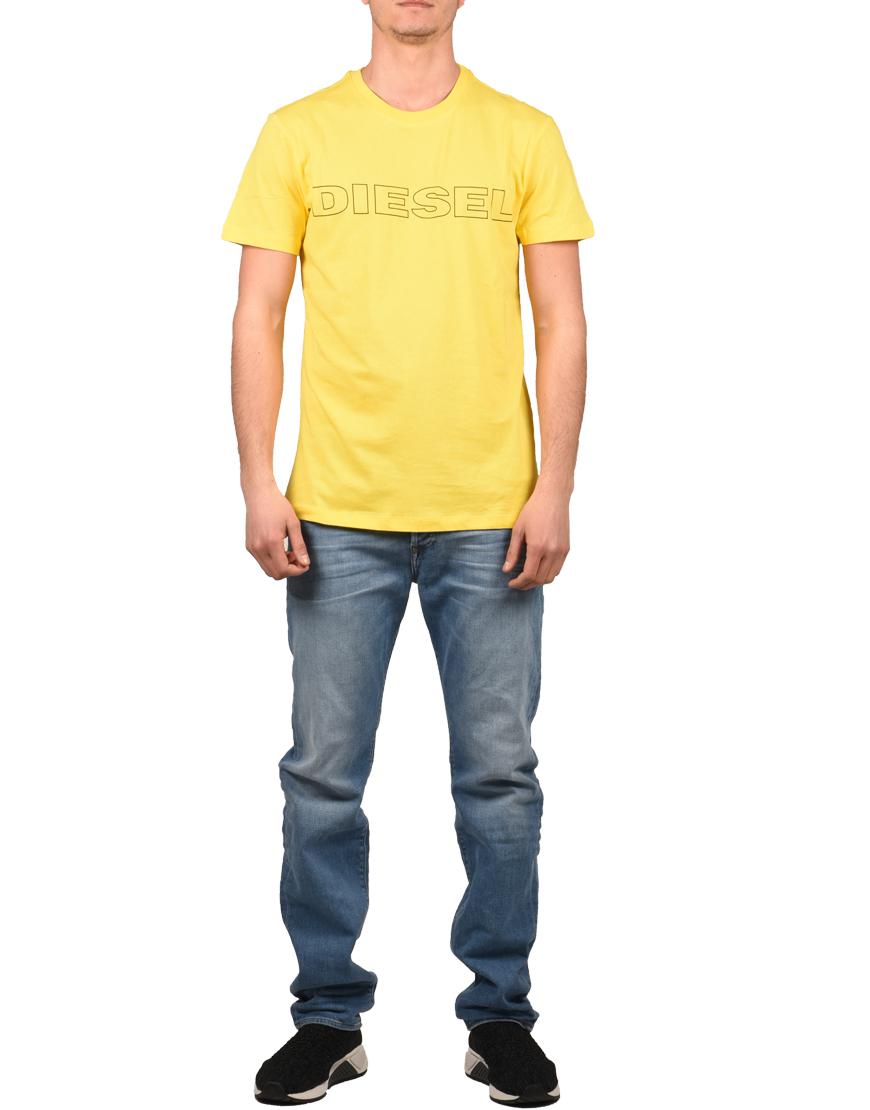 Diesel T-Shirt Ανδρικό T-Jake Yellow 00CG46 0DARX-295 1722397 ... 819f25210d0
