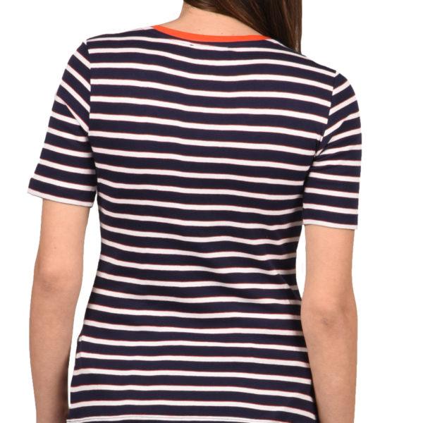 e9a9d3ab06fc Tom Tailor T-Shirt Γυναικείο True Dark Blue Stripe 1009071-16358 1722620
