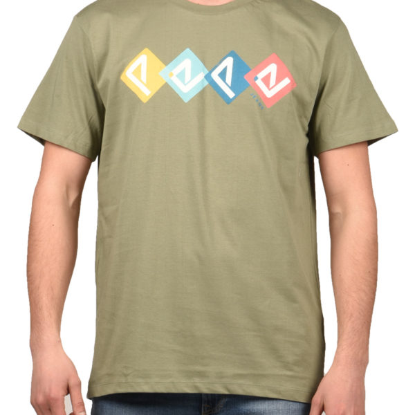 Pepe Jeans T-Shirt Ανδρικό Joel Dark Olive PM506356-768 1706340 3540f531b4f