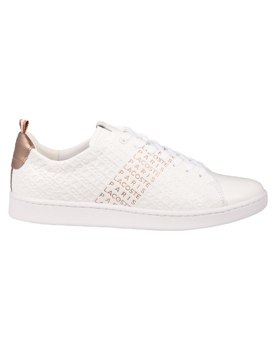fde1b08516 Lacoste Sneakers Γυναικεία Carnaby Evo 119 11 US SFA White Pink  7-37SFA0012B53 1723083