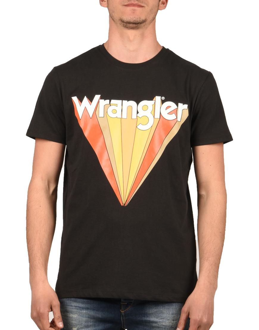 ac4e9ebc9e53 Wrangler T-Shirt Ανδρικό Faded Black W7C12F-KV6 1721497