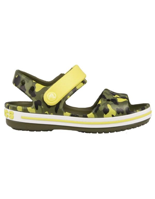 983e842d21f Crocs Crockband Kids Παιδικά Ανατομικά SeasonalGraphic Citrus 205765-738  1724473