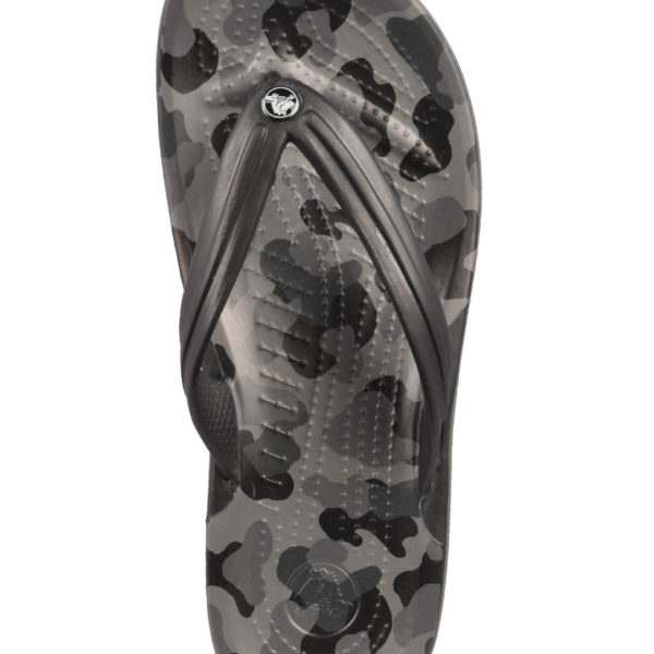 d32e8971dd5 Crocs Classic Flip Ανατομικές Σαγιονάρες Seasonal Graphic Slate Grey/Black  205584-0DY 1724474