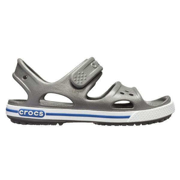 08227ea2873 Crocs Crocband II Sandal Παιδικά Ανατομικά Slate Grey/Blue Jean 14854-0DB  1722627