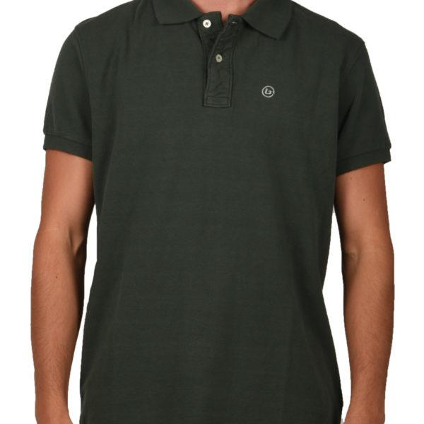 22e1707d8bc6 Basehit Polo T-Shirt Ανδρικό Forest Green 191.BM35.70 1722468