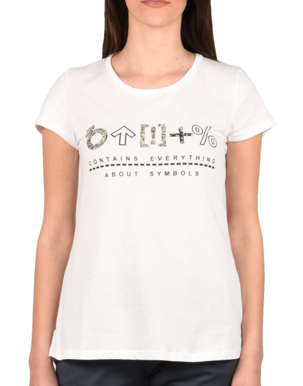 87d3dc2a10ee Online T-Shirt Γυναικείο White 16.0191.1339 1723348