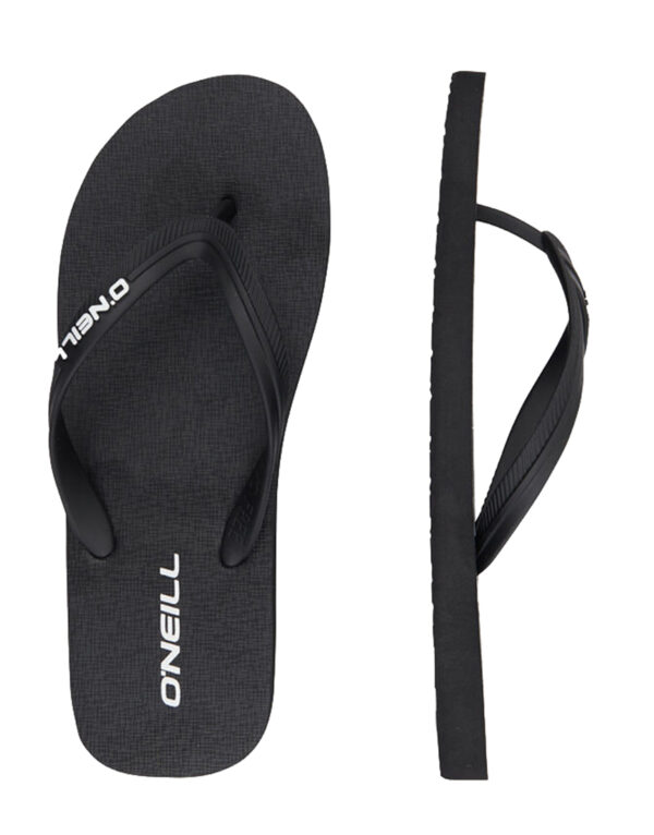 _0056_O'NEILL MN SH SLIPPERS PROFILE SMALL LOGO OFS202SL0A4534M BLACK